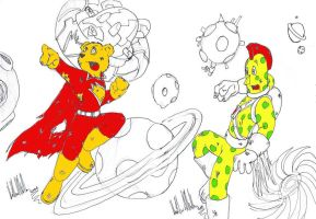superted and spotty by robot-man-7