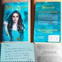 Book cover III - The Descendants PRINTED by MirellaSantana
