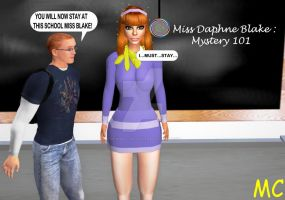 Daphne Teaches At The Hypnosis School For Boys by The-Mind-Controller