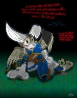 Thenyr's bunny curse. by Arrow-Quivershaft