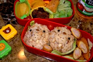 Special Walrus Day Back Bento by Demi-Plum