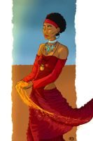 Queen of sand - Request by Cactical