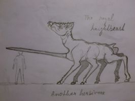 planet colibri project - mid-sized herbivore by palaeorigamipete