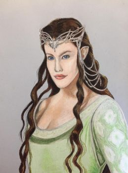 Queen of Gondor by celticsidhe