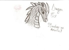Dragon Face 2 by 99andreea