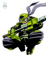 Donatello - IntoAction - FullColor by EryckWebbGraphics
