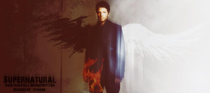 Supernatural-castiel by Peace4all