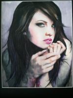 Color pencil portrait by rluckey43