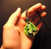 Lilypad Prince pendant teaser by Meadowknight