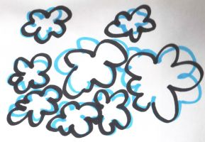 Doodle Clouds by morana-stock