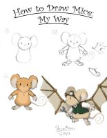 How To Draw Mice by SteamMouse