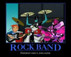 Alien Rock Band by TeeheeXD