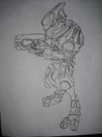 Halo Reach Elite Ultra by Grubish360