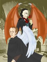 The Angel and the Demon by Crystal-Gargoyle