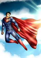 The Man of Steel by Smudgeandfrank