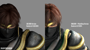 Ryu Hayabusa Comparison by EnlightendShadow