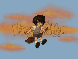 Chibi Harry wallpaper by Kinky-chichi