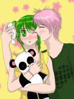 VY2 and Gumi by chocosunday