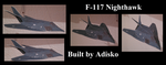 F-117 Nighthawk by Adisko