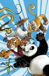 FCBD Kung Fu Panda cover color by DustinEvans