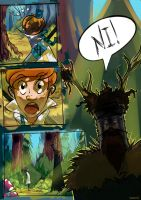 Arthur in the forest on Ni! (page 2) by TeteoTolis