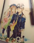 ludger and elle by AzuureEdge