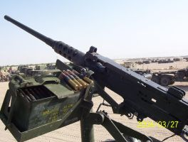 .50 caliber machine gun by animedevildog