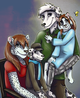 family portrait by blackmustang13