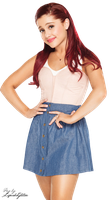 Ariana Grande PNG (1) by xCupcakeGlitter
