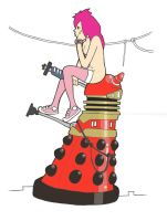 Megan's Dalek by nichangell