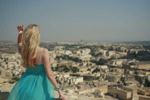 looking at the town by AnastasiaSia
