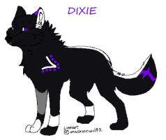Dixie the wolf by JENNY8888