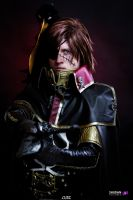 Captain Harlock  - En Garde by Aleke