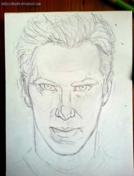 Khan WIP by IndyScribbable