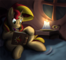 Sunset Shimmer by Scruffasus
