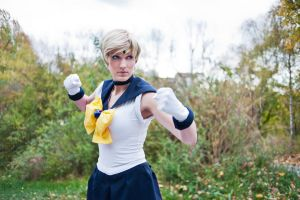 Sailor Uranus - ready to fight by MiraiSadame