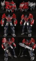 Custom Beast Hunter Optimus Prime by Solrac333
