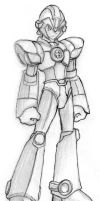Mega Man custom by Tricheus