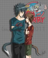 Tom and Jerry by Galanty