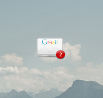 Gmail Conky by Bliezkrieg