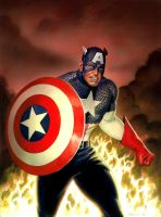 Captain America by Habjan81