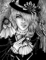 The Mad Hatter : Pandora Hearts by InWind