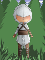 COM : Chibi Assassin by Xylerz