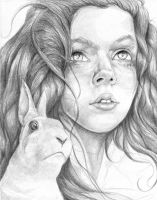 'Alice' drawing by MichaelShapcott