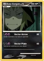 Medusa Gorgon, Pokemon Card by anime-artist-love