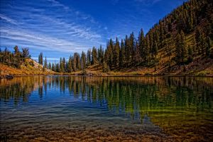 Summer Lake Cathrine by mjohanson