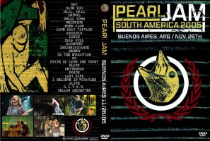 Pearl Jam In Buenos Aires by foxmulder666