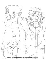 Naruto chap. 486 cover lineart by synyster-gates-A7X