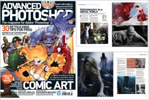 My interview in Advanced Photoshop Magazine  #126 by rsiphotography