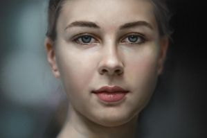 Portrait study by gerezon